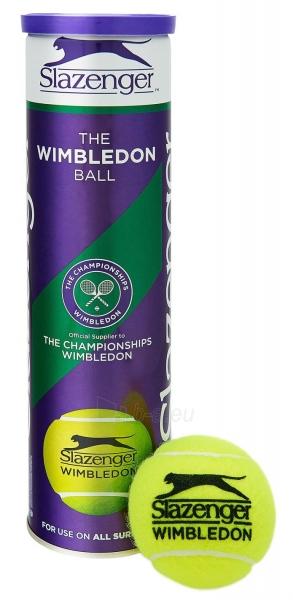 Lauko teniso kamuoliukai Slazenger Wimbledon, 4 vnt Paveikslėlis 1 iš 1 310820040120