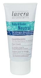 Lavera Baby Face Cream Neutral Cosmetic 50ml Paveikslėlis 1 iš 1 30024900087