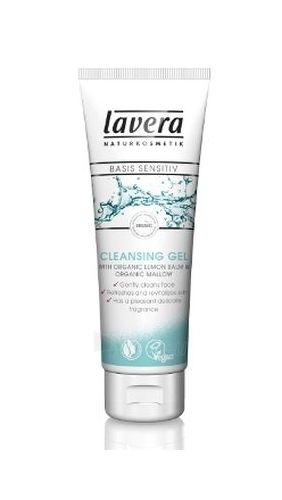 Lavera Cleansing Gel Basis Sensitiv Cosmetic 125ml Paveikslėlis 1 iš 1 250840700008