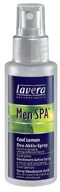 Lavera Men Spa Deo Spray Cool Lemon Cosmetic 50ml Paveikslėlis 1 iš 1 2508910000659