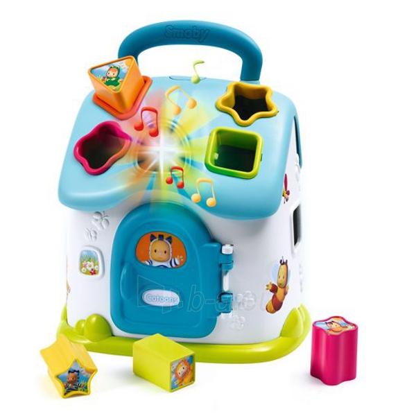 Lavinimo žaislas Cotoons Shape Sorter House electr. Paveikslėlis 1 iš 2 310820082621