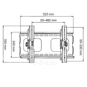 LCD monitoriaus laikiklis ART AR-07 |23-37 |45kg | Vertikalus reguliavimas Paveikslėlis 2 iš 3 250226200579