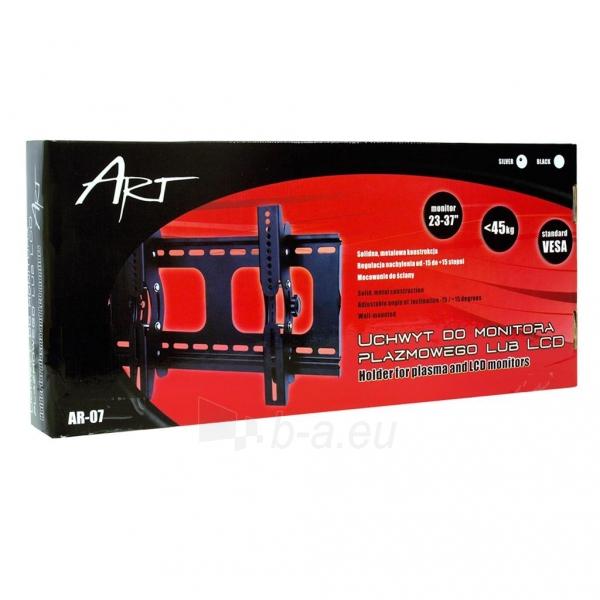 LCD monitoriaus laikiklis ART AR-07 |23-37 |45kg | Vertikalus reguliavimas Paveikslėlis 3 iš 3 250226200579