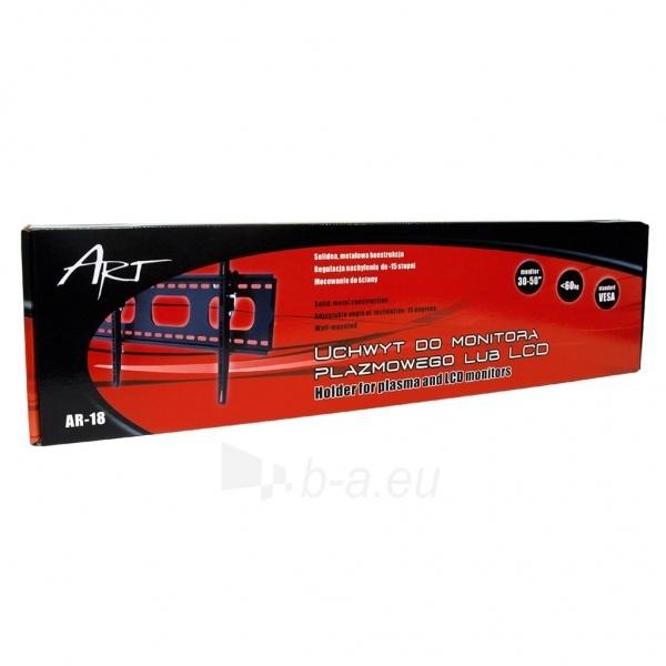 LCD monitoriaus laikiklis ART Holder AR-18 LCD TV | Black | 30-50 60kg | VESA Paveikslėlis 3 iš 3 250226200545