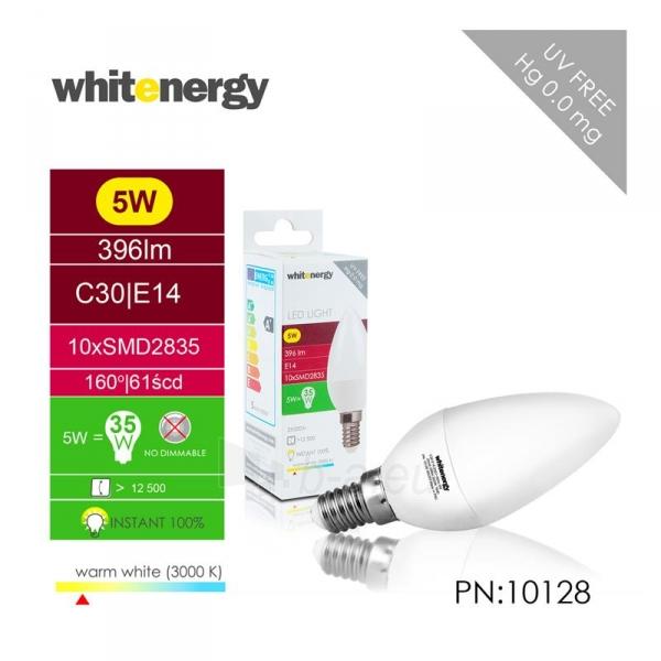 LED lemputė Whitenergy | E14 | 10 SMD 2835 | 5W | 230V| pienas | C30 Paveikslėlis 5 iš 6 310820049339