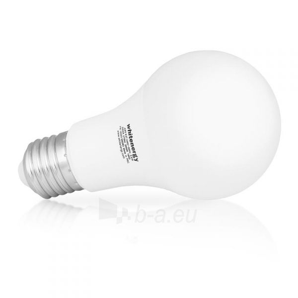 LED lemputė Whitenergy | E27 | 10 SMD2835 | 5W |230V šilta balta | A60 Paveikslėlis 2 iš 6 310820103039