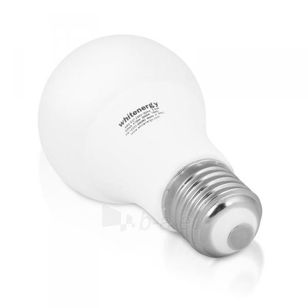 LED lemputė Whitenergy | E27 | 10 SMD2835 | 5W |230V šilta balta | A60 Paveikslėlis 3 iš 6 310820103039