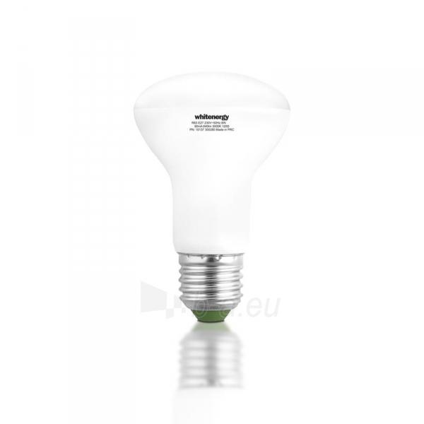 LED lemputė Whitenergy | E27 | 18 SMD 2835 | 8W | 230V| pienas | R63 Paveikslėlis 3 iš 7 310820049344