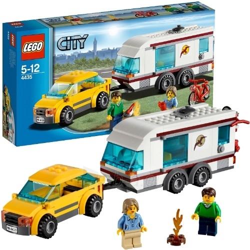 LEGO 4435 City Car and Caravan Paveikslėlis 1 iš 2 30005400309