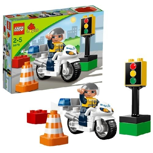 Lego 5679 Duplo Police Bike Paveikslėlis 1 iš 1 30005400418