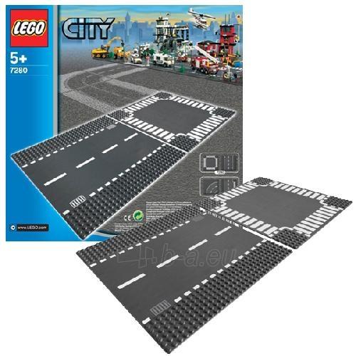 Lego 7280 City Straight and Crossroad Plates Paveikslėlis 1 iš 2 30005400390