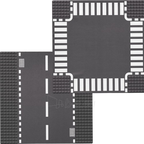 Lego 7280 City Straight and Crossroad Plates Paveikslėlis 2 iš 2 30005400390