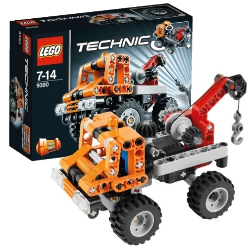 Lego 9390 Technic Mini Tow Truck 2 in 1 Paveikslėlis 1 iš 4 30005400427