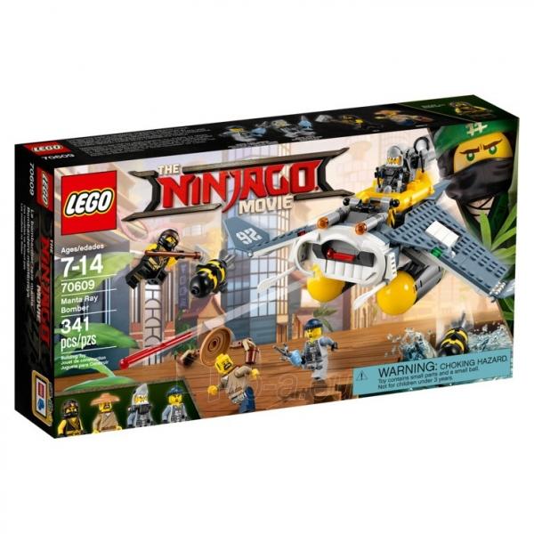 Lego konstruktorius Manta Ray Bomber Paveikslėlis 1 iš 3 310820116018