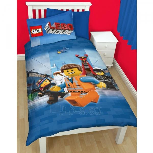 Lego Movie herojų dvipusės patalynės komplektas Paveikslėlis 1 iš 3 30115700642