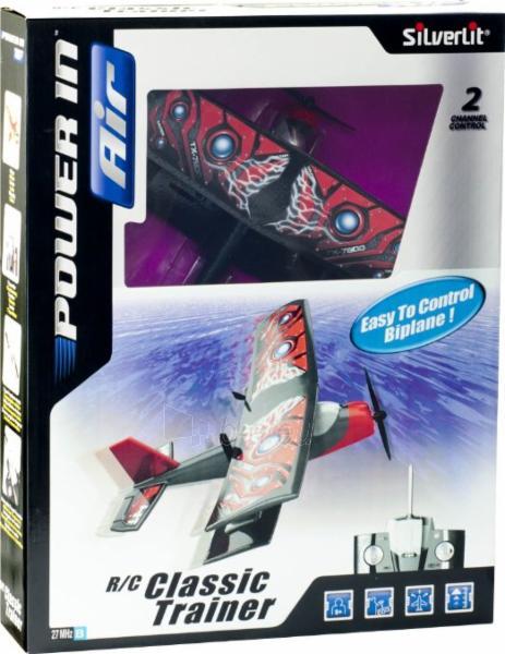 Lėktuvas SILVERLIT R/C Classic-Trainer 85648 Paveikslėlis 1 iš 1 30006500066