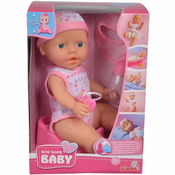 Lėlė   New Born Baby 30 cm   Simba Paveikslėlis 2 iš 3 310820204765