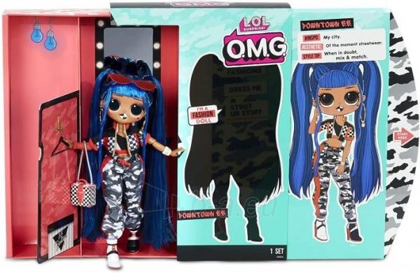 Lėlė 559788 LOL Surprise OMG Downtown B.B. Fashion Doll with 20 Surprises L.O.L. Paveikslėlis 4 iš 6 310820252814