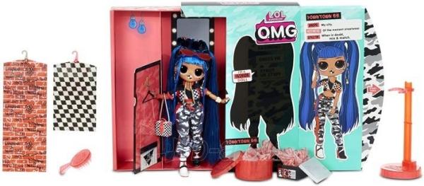 Lėlė 559788 LOL Surprise OMG Downtown B.B. Fashion Doll with 20 Surprises L.O.L. Paveikslėlis 5 iš 6 310820252814
