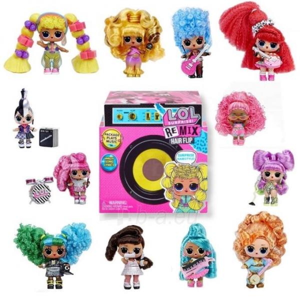 Lėlė 566960 L.O.L. Surprise! Remix Hair Flip Dolls OMG LOL Paveikslėlis 6 iš 6 310820252896
