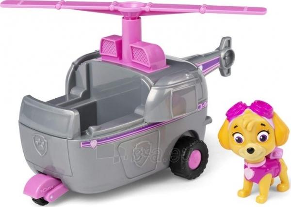 Lėlė 6052310 PAW Patrol Skye's Helicopter Vehicle with Collectible Figure SKYE SPIN MASTER Paveikslėlis 2 iš 6 310820252860