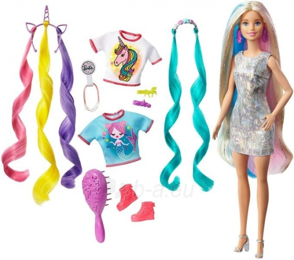 Lėlė Barbie GHN04 Fantasy Hair Doll MATTEL Paveikslėlis 2 iš 6 310820252925