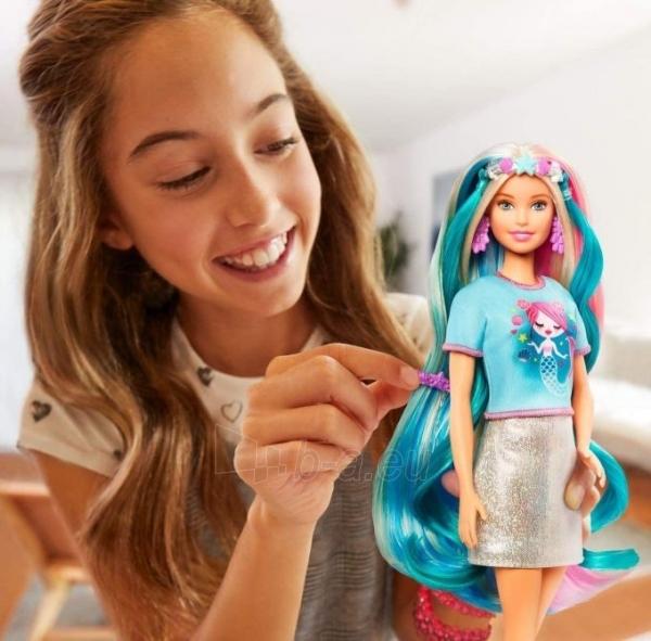 Lėlė Barbie GHN04 Fantasy Hair Doll MATTEL Paveikslėlis 6 iš 6 310820252925