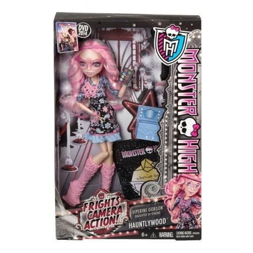 Lėlė BLX17 / BLX18 Monster High Frights, Camera Action! Viperine Gorgon Doll BLX22 / BLX23 Paveikslėlis 1 iš 1 310820048080