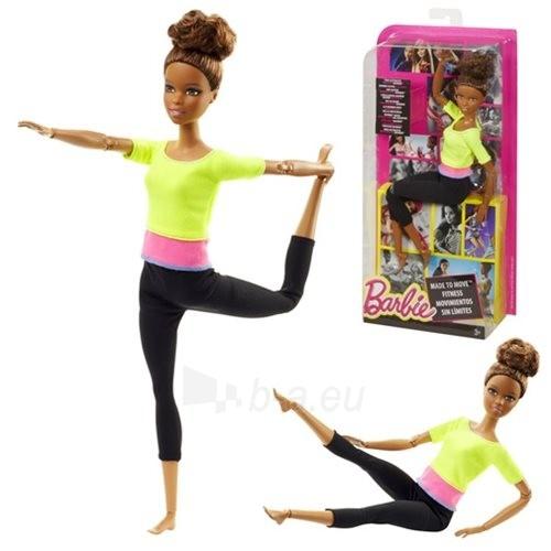 Lėlė DHL83 / DHL81Barbie Endless Moves Doll with Yellow Top Paveikslėlis 1 iš 6 310820046963