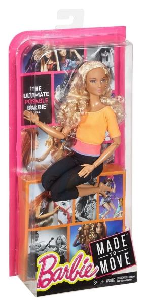 Lėlė DPP75 / DHL81Barbie Made to Move Doll Paveikslėlis 2 iš 6 310820046964