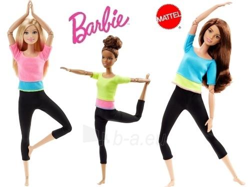 Lėlė DPP75 / DHL81Barbie Made to Move Doll Paveikslėlis 5 iš 6 310820046964
