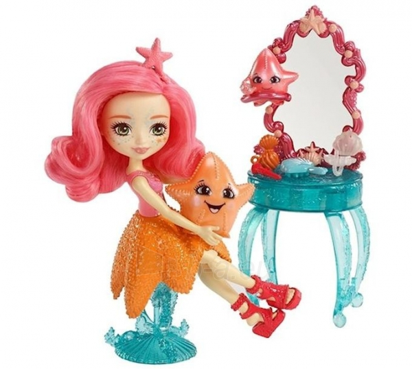 Lėlė FKV59 / FKV58 Enchantimals Starling Starfish Dolls - Mattel Paveikslėlis 3 iš 6 310820137218