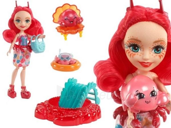 Lėlė FKV60 / FKV58 Enchantimals Cameo Crab Dolls - Mattel Paveikslėlis 1 iš 6 310820137219