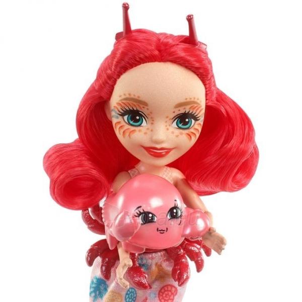 Lėlė FKV60 / FKV58 Enchantimals Cameo Crab Dolls - Mattel Paveikslėlis 4 iš 6 310820137219