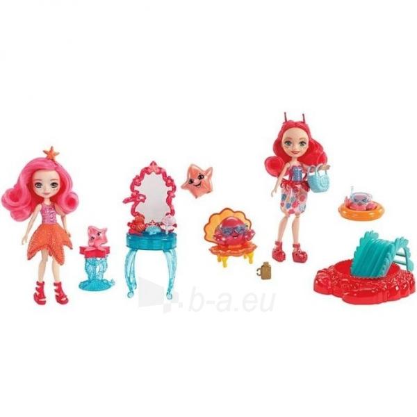 Lėlė FKV60 / FKV58 Enchantimals Cameo Crab Dolls - Mattel Paveikslėlis 5 iš 6 310820137219