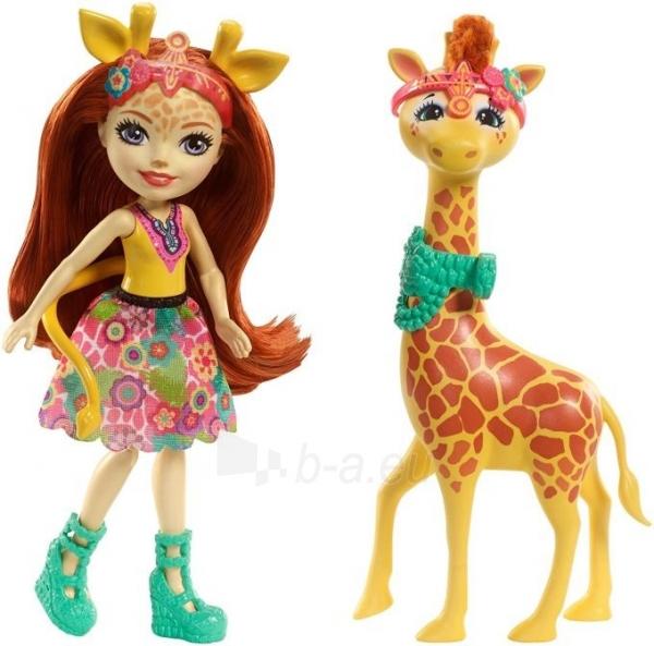 Lėlė FKY74 / FKY72 Enchantimals Gillian Giraffe Dolls MATTEL Paveikslėlis 1 iš 6 310820137220