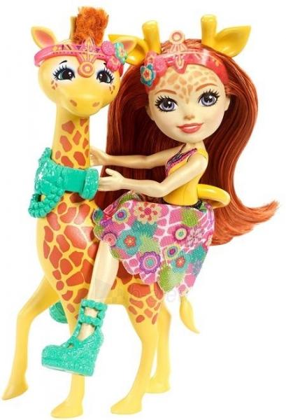 Lėlė FKY74 / FKY72 Enchantimals Gillian Giraffe Dolls MATTEL Paveikslėlis 2 iš 6 310820137220