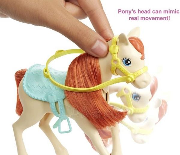 Lėlė FXH15 Hugs N Horses - playset Barbie and Chelsea and 2 horses MATTEL Paveikslėlis 3 iš 6 310820252906