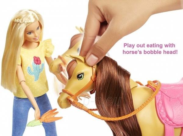 Lėlė FXH15 Hugs N Horses - playset Barbie and Chelsea and 2 horses MATTEL Paveikslėlis 5 iš 6 310820252906
