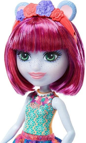 Lėlė GFN56 Enchantimals Hedda Hippo Doll & Lake Animal Figure MATTEL Paveikslėlis 2 iš 6 310820252838