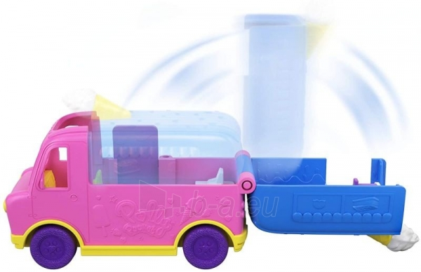 Lėlė GGC40 Mattel Figures set Polly Pocket Pollyville Ice Cream Truck Paveikslėlis 4 iš 6 310820230609