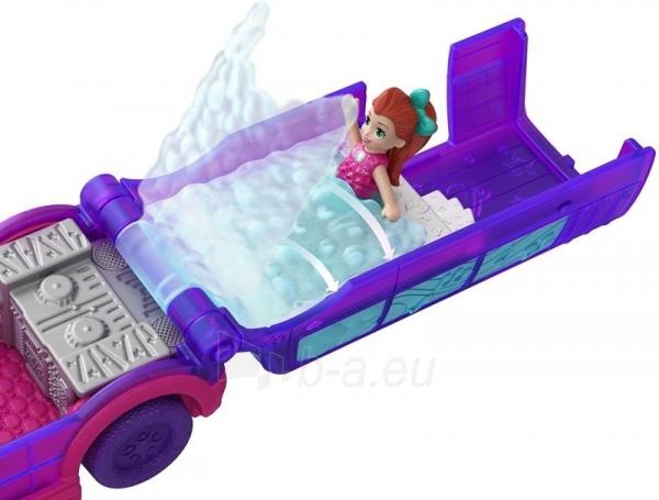 Lėlė GGC41 Mattel Figures set Polly Pocket Pollyville Ice Limousine Paveikslėlis 4 iš 6 310820230608