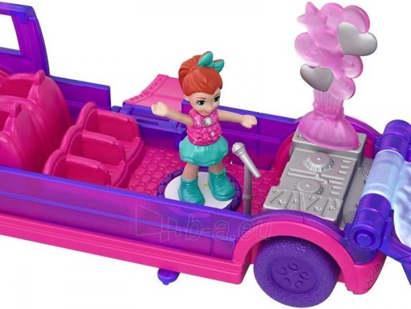 Lėlė GGC41 Mattel Figures set Polly Pocket Pollyville Ice Limousine Paveikslėlis 5 iš 6 310820230608