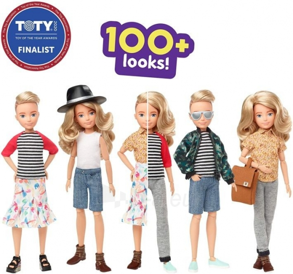 Lėlė GGT67 Creatable World Deluxe Character Kit Customizable Doll with Blonde Wavy Hair, 6 Pieces Doll Cl Paveikslėlis 2 iš 6 310820252870