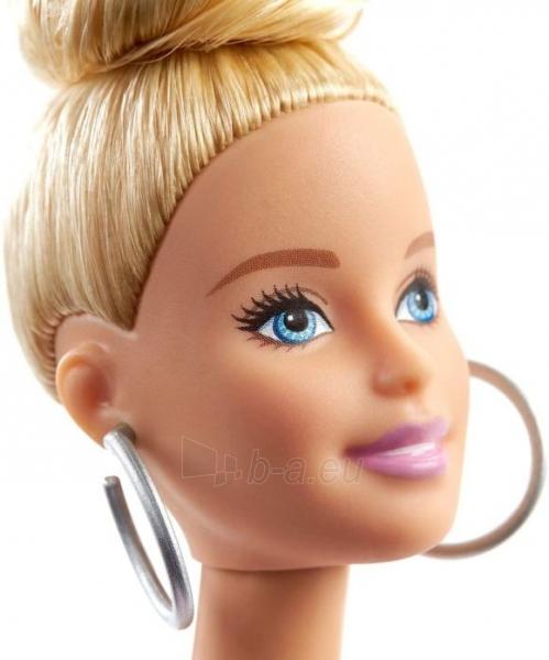 Lėlė GHW56 ��Barbie Fashionistas Doll with Blonde Updo Hair Wearing Pink MATTEL Paveikslėlis 1 iš 6 310820230658