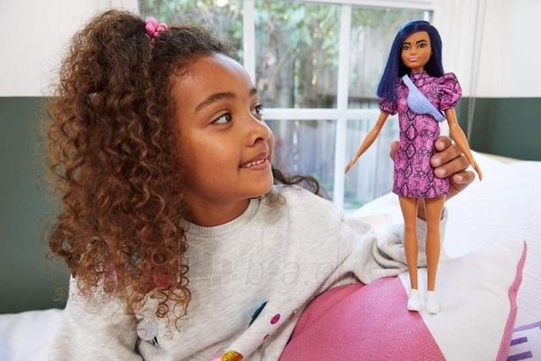 Lėlė GHW57 Barbie Fashionistas 143 Doll With Blue Hair Paveikslėlis 3 iš 6 310820230672