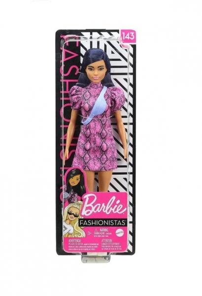 Lėlė GHW57 Barbie Fashionistas 143 Doll With Blue Hair Paveikslėlis 5 iš 6 310820230672