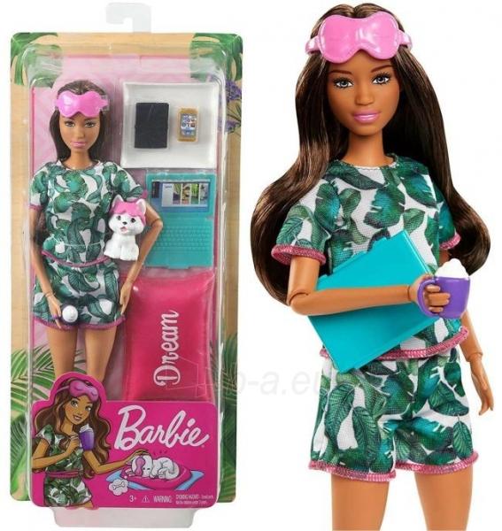 Lėlė GJG58 Mattel Barbie Relaxing Dream Set with Accessories Барби Релакс Грезы Paveikslėlis 1 iš 6 310820252835