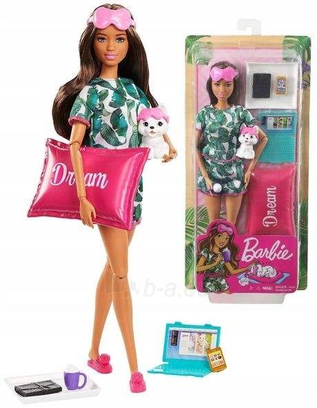 Lėlė GJG58 Mattel Barbie Relaxing Dream Set with Accessories Барби Релакс Грезы Paveikslėlis 3 iš 6 310820252835