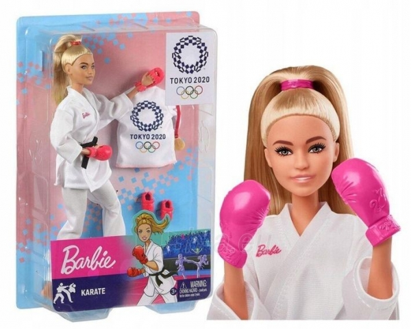 Lėlė GJL74 / GJL73 Barbie MATTEL Paveikslėlis 2 iš 6 310820252827